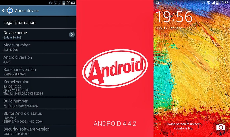 Upgrade Samsung Galaxy Note 3 SM N9005 ke Kitkat 4.4.2 Official