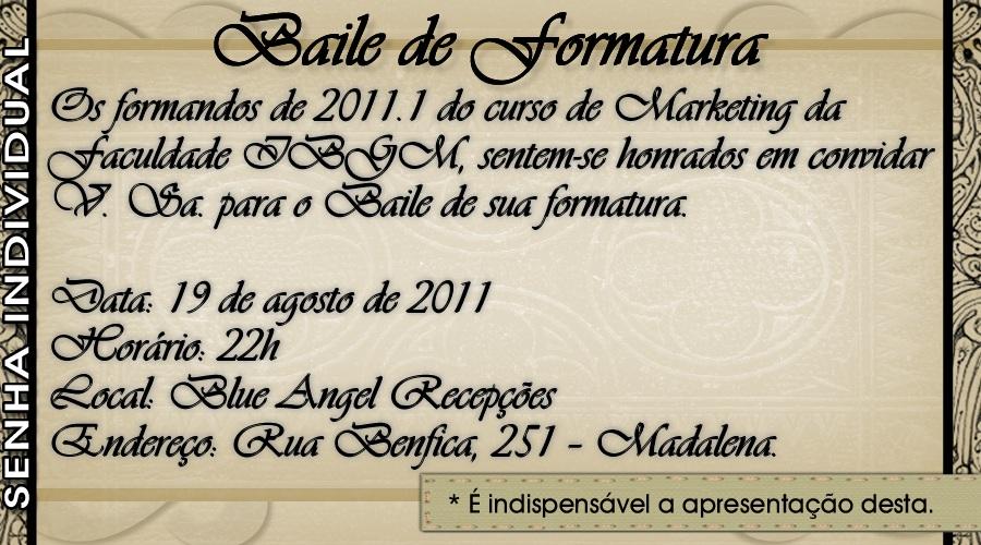 Moura Artes Convite De Formatura