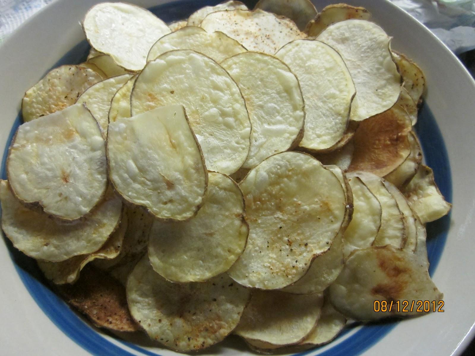 Bit Of Flavor Bit Of Flavor Homemade Potato Chips