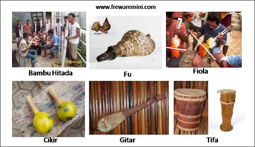 Alat musik tradisional Maluku Utara