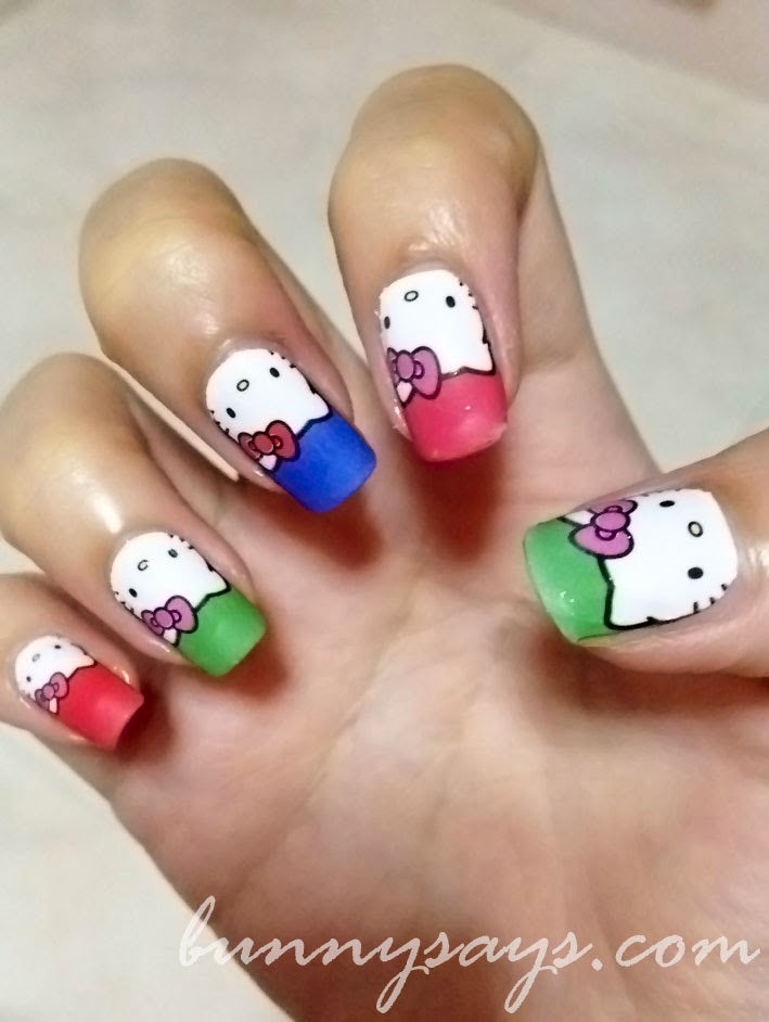 Spectacular Hello Kitty 3d Nails