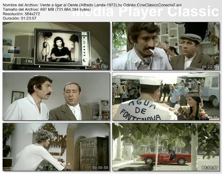 Vente a ligar al Oeste | 1972 | Con Alfredo Landa