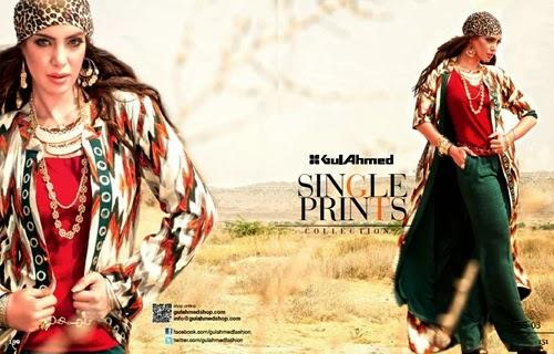 Gul Ahmed Single Prints