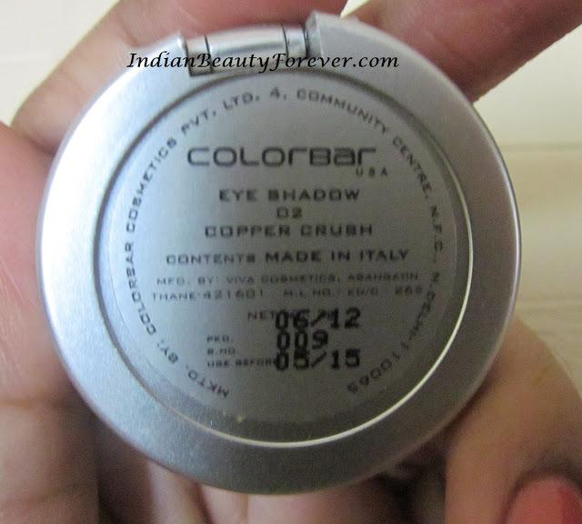 colorbar eyeshadow