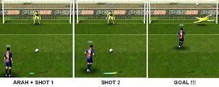Tendangan Penalti PES 2013, Penalty Kick PES 2013