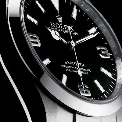 Rolex Explorer Watch HD Desktop Wallpaper