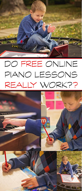 Do Online Piano Lessons Really Work? {Hoffman Academy Review + FREE Printable Lesson Tracker}