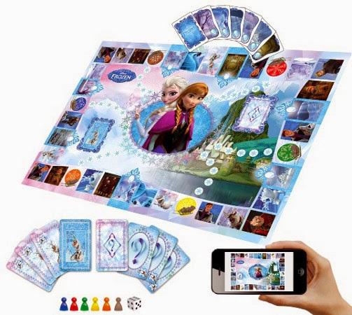 JUGUETES - DISNEY Frozen - El juego Interactivo  Educa Borras 16219 | Juego de Mesa | Producto Oficial  Jugadores: 2-6 | Edad: 6-12 años