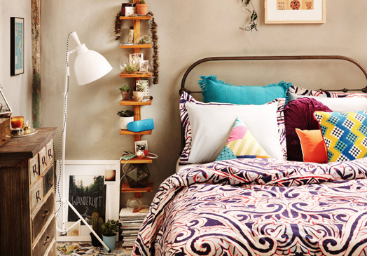 cush and nooks urban outfitters home lookbook