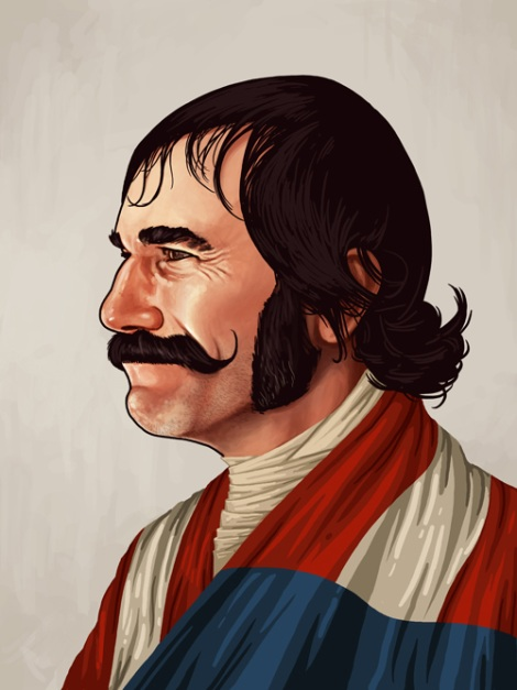 Daniel Day Lewis by Mike Mitchell