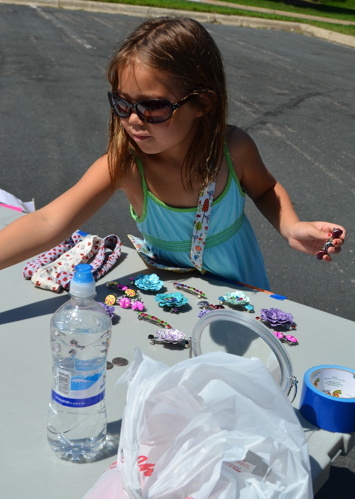 Emily And Her Friend Rena Each Picked A Craft Product To Sell Then Got Together Make Them Renas Idea Was The Barrettes In Picture Above