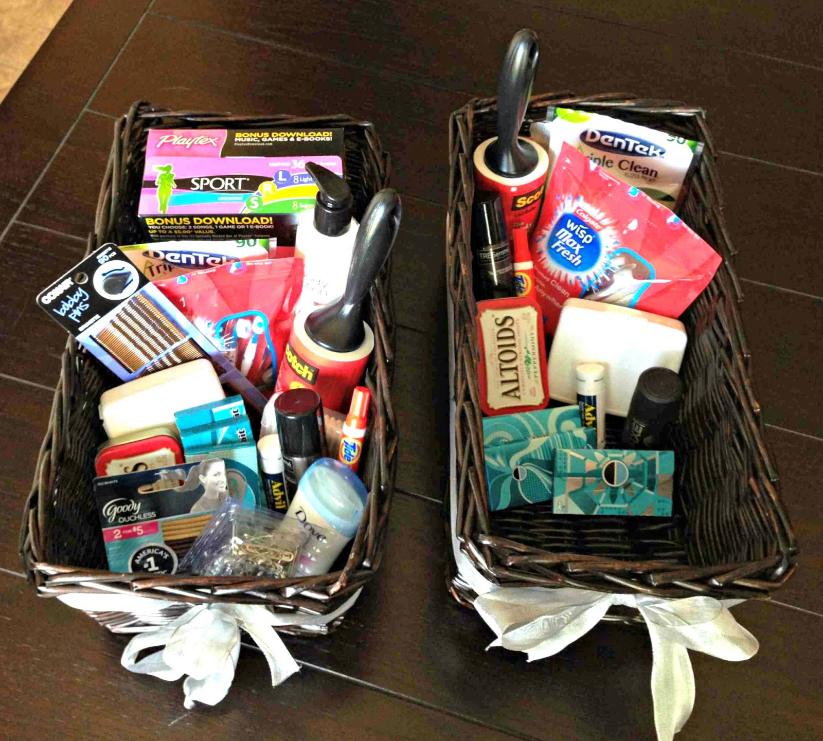 All things katie marie wedding bathroom baskets for Bathroom basket ideas for wedding