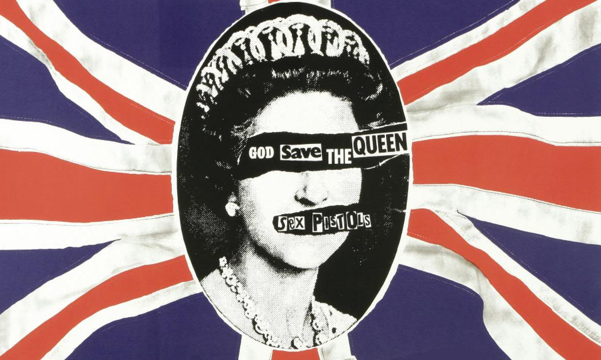 Sex Pistols God save the queen chien de sexe