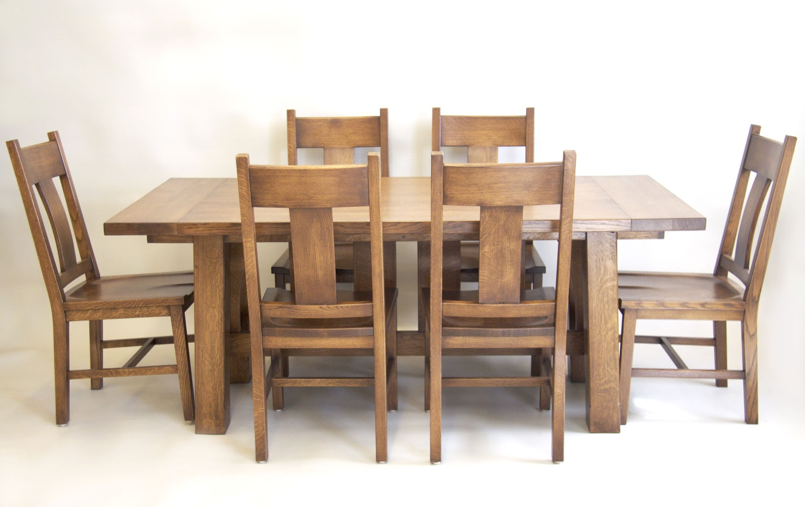 Arts and crafts chairs - Finished Arts And Crafts Dining Table And Chairs