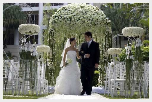 is definitely wedding season  and here are some outdoor wedding tips