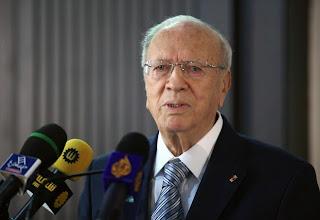 Béji Caïd Essebsi se rend à Tozeur