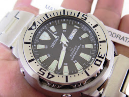SEIKO DIVER TUNA MONSTER SRP637 BRACELET - AUTOMATIC 4R36