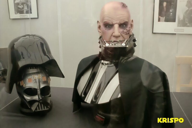 darth vader sin casco con cabeza actor david prowse