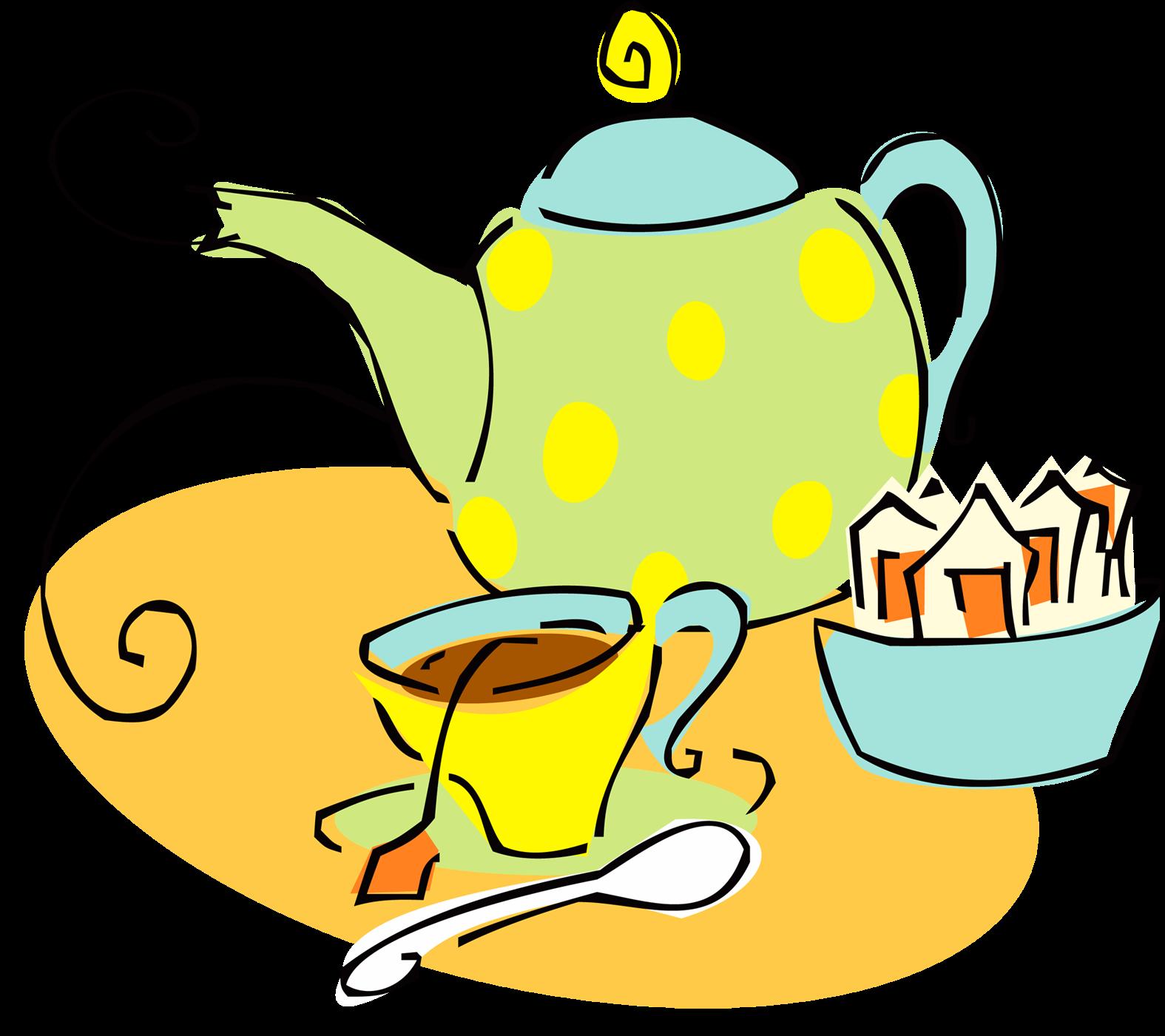 Мультяшные картинки к чаю