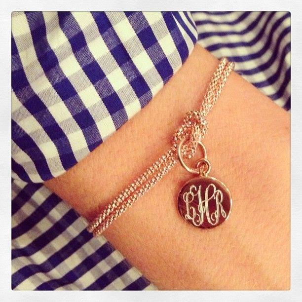 http://www.swellcaroline.com/monogram-knot-bracelet-sterling-gold-rose-gold.html