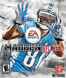 Madden NFL 2013 cover