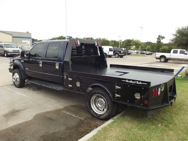 Ford F Flatbed X Crew Cab K Miles Diesel on Tundra Flatbed
