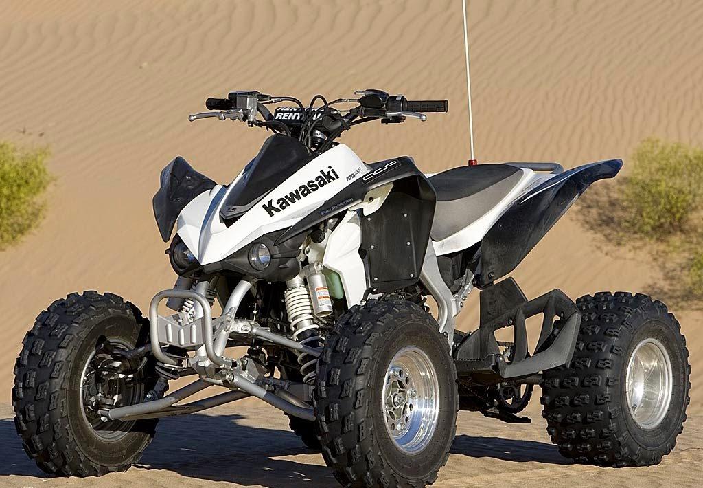 Bike Wallpapers: Kawasaki KFX 450R ATV Bikes Wallpapers