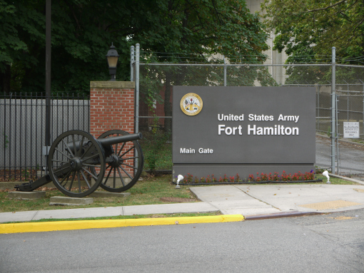 Entrance to Fort Hamilton Brooklyn, New York