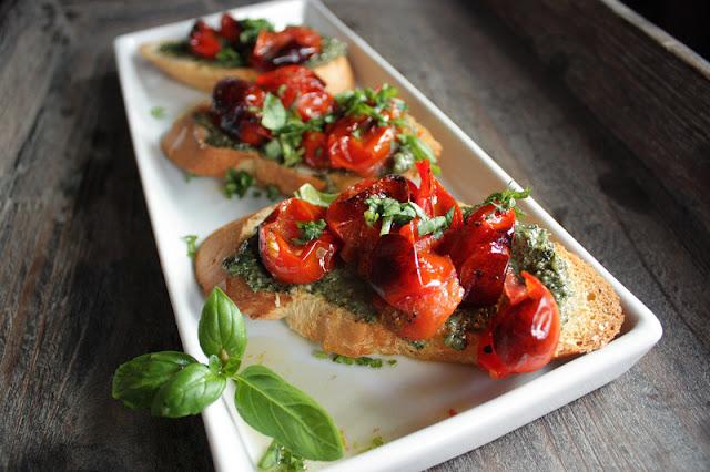 Oppskrift Bakte Tomater Søndagsfrokost