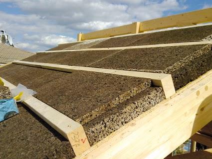 La bioconstrucci n como soluci n planchas de corcho - Como impermeabilizar madera ...