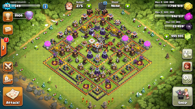 Download Clash Of Clans Cheat Gems Mod Apk Hack Tool Free No Survey 2016