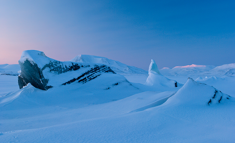 jäämäed Inglefieldbuktas, icebergs in Spitsbergen