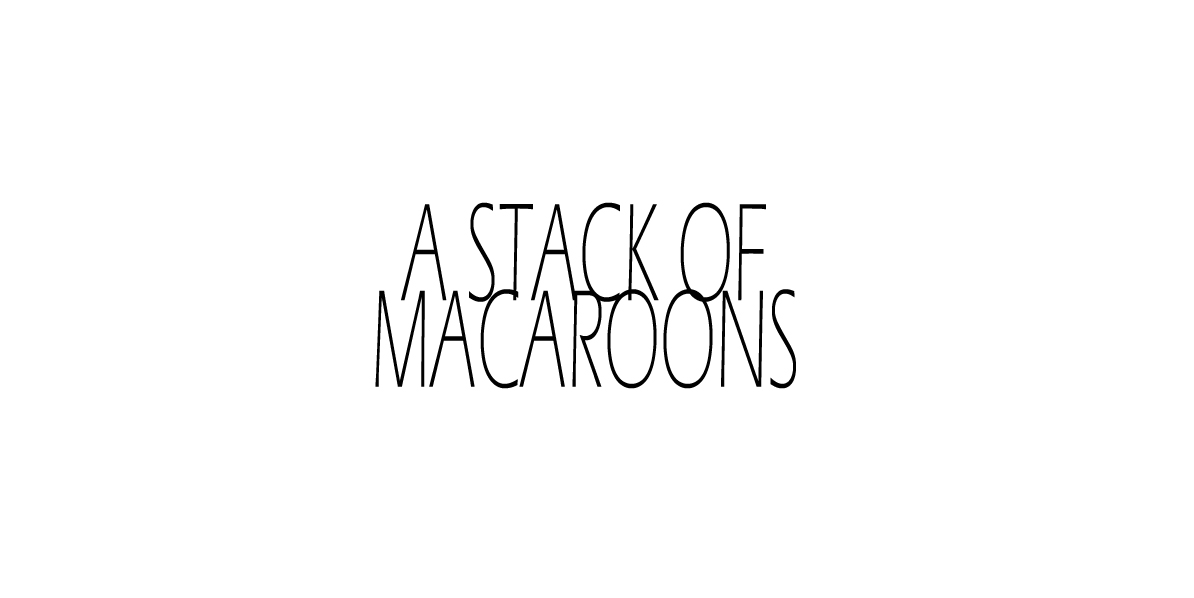 A Stack of Macaroons