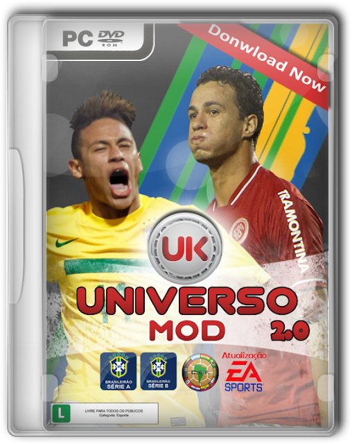 Capa UniversoMod2 UniversoKits Godiba1973 FIFA 12: Universo Mod 2.0