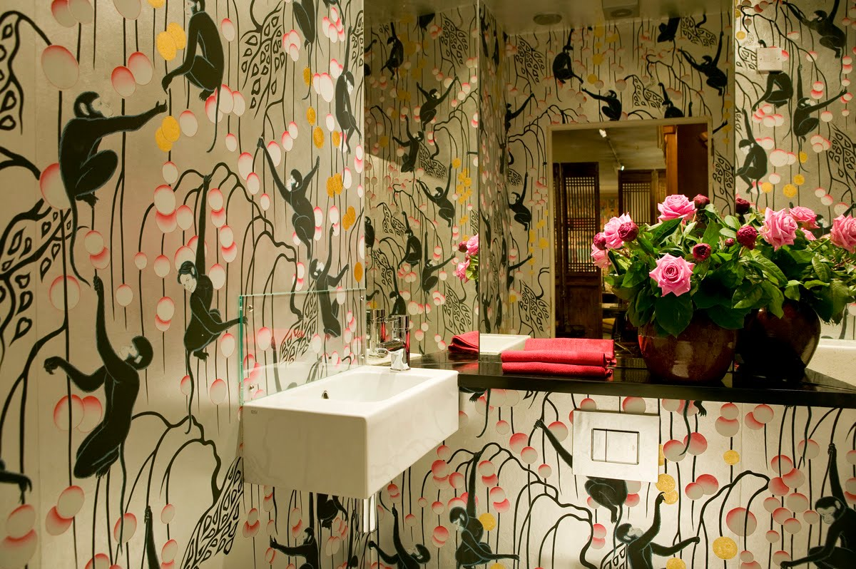 Pretty inspirational de gournay wallpaper for Wallpaper traditional home