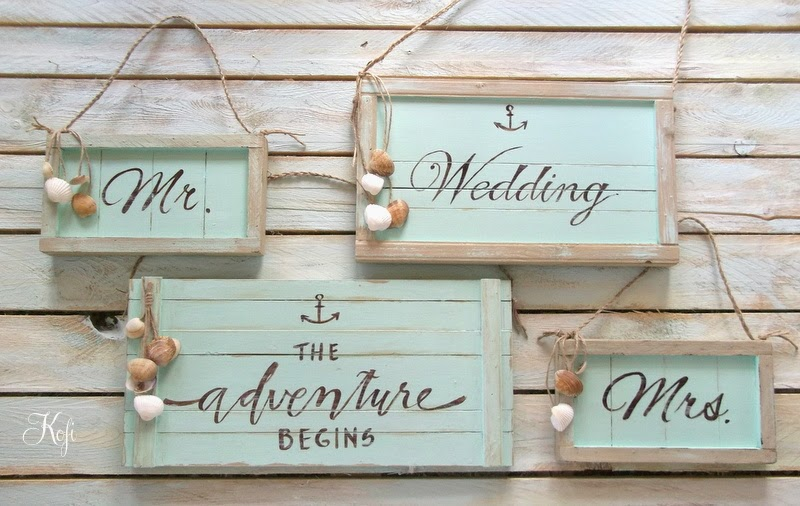 Decoratiuni nunta in stil marin