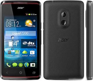 Spesifikasi dan Harga HP Acer Liquid Z200