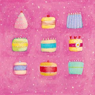 pasteles y tartas con velas