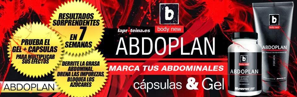 SUPLEMENTOS DEPORTIVOS: PACK ABDOPLAN FOR MEN GEL 200 ML