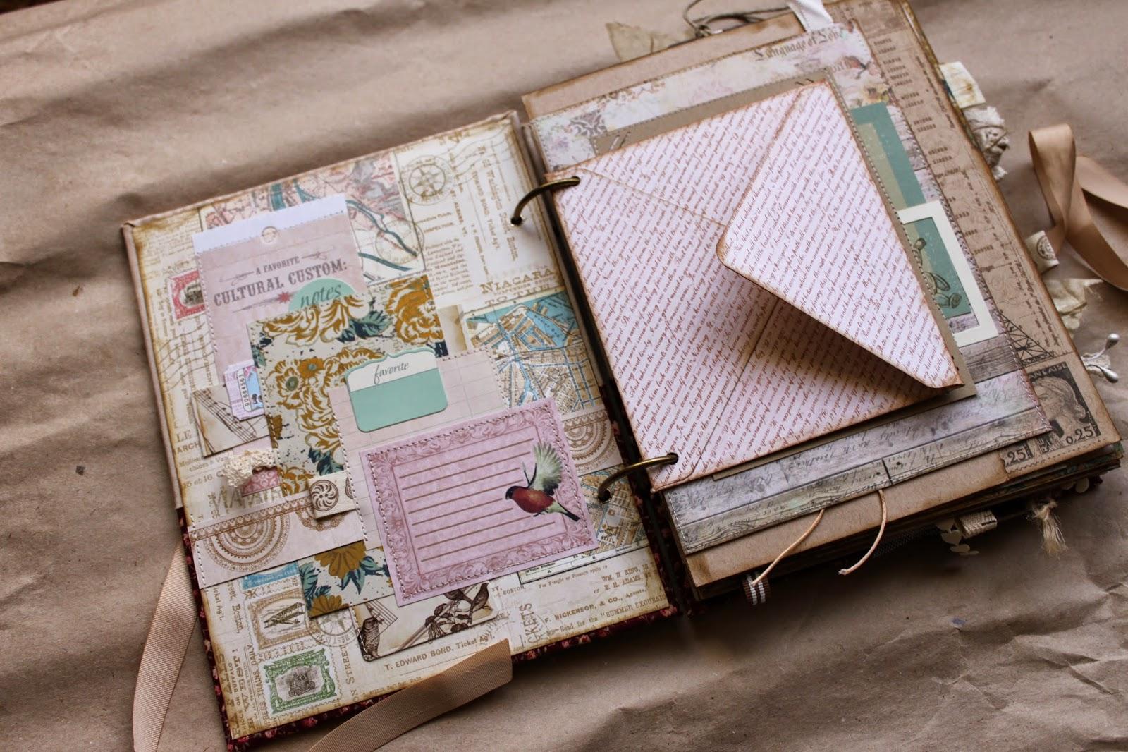 Дневник скрапбукинг своими руками 5