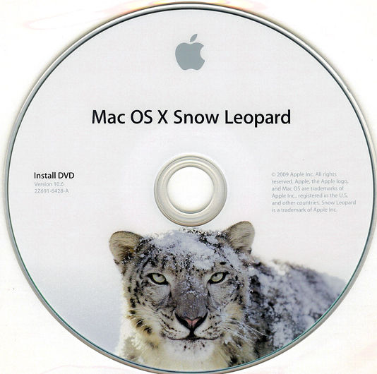 mac os x snow leopard iso image free download