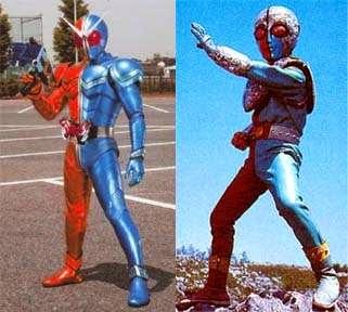 Tokusatsu Hero Yang Mengadaptasi Style Kikaider