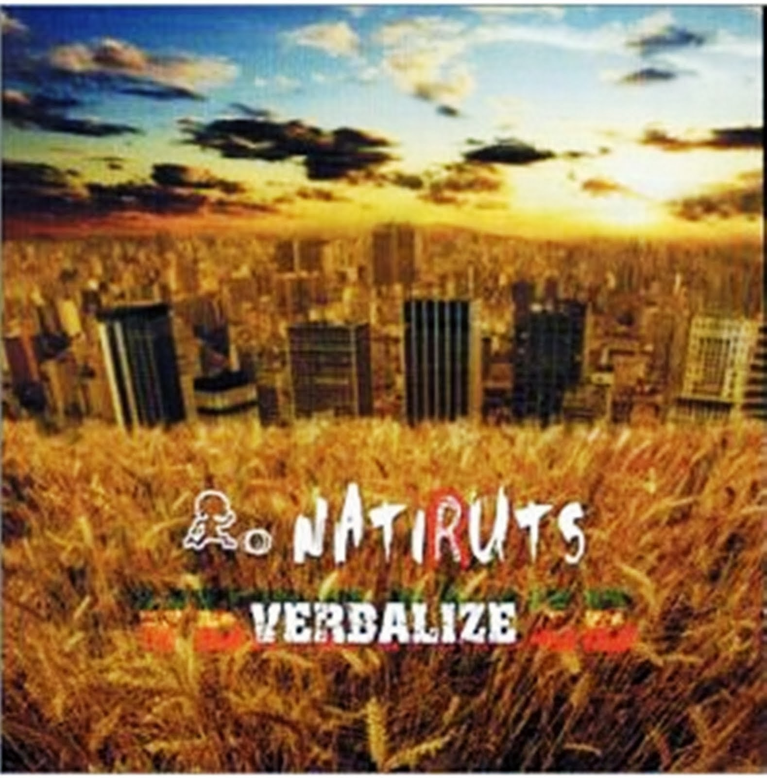 Natiruts - Verbalize CD Capa