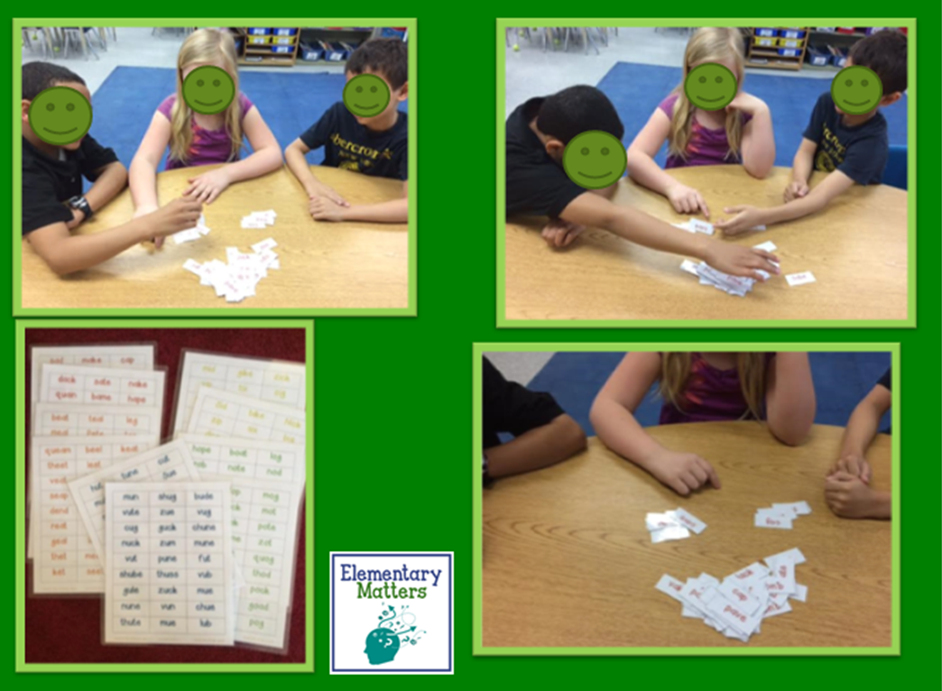 Vowel Word Sort and Fluency Practice