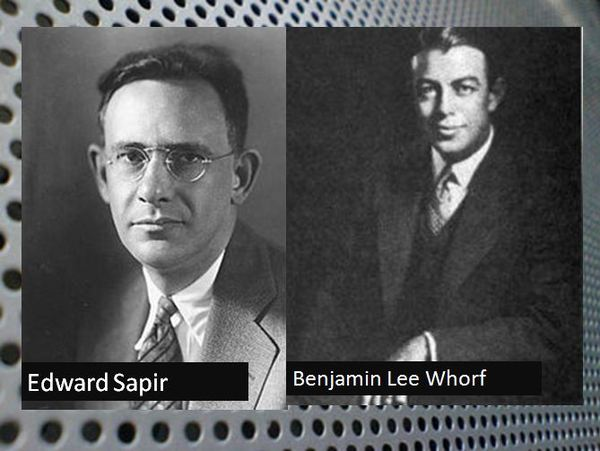 critics of the sapir-whorf thesis Sociology flashcards | quizlet a criticism of the symbolic critics of the sapir-whorf thesis point out critics of erik h erikson's theory of personality.