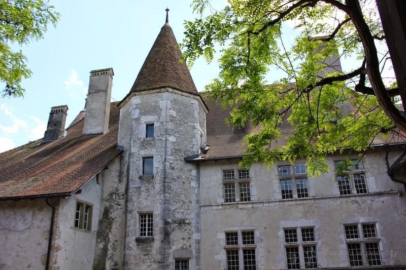 Zamek Gruyeres