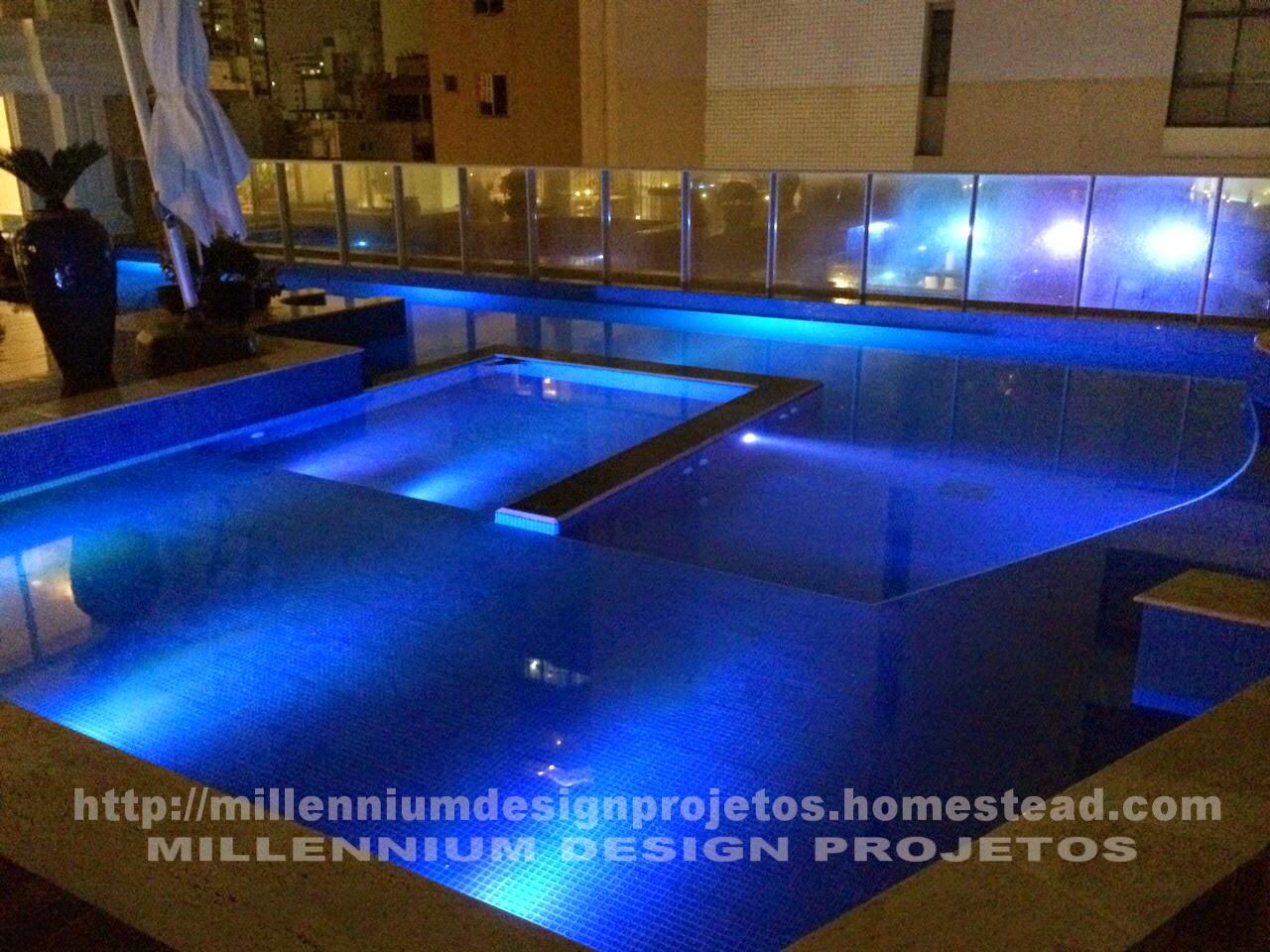 Millennium design projetos solu es millennium palace residence o maior pr dio do brasil - Piscina da interno ...
