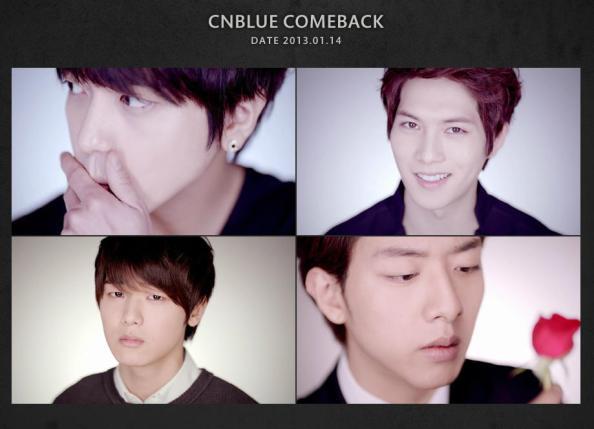 CN Blue Gambar teaser individu