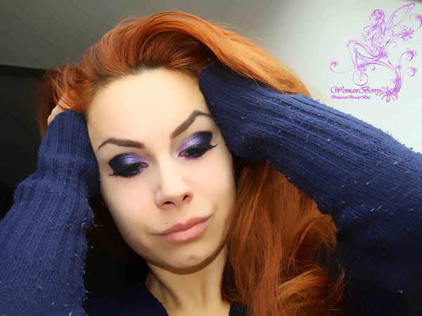 MAKE UP: Purple drama