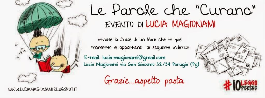 """Eccezionale Dott.ssa Lucia Magionami: Le Parole che """"Curano"""" evento di Lucia  DH15"""